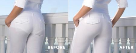 Какие женские трусы носить под белые брюки